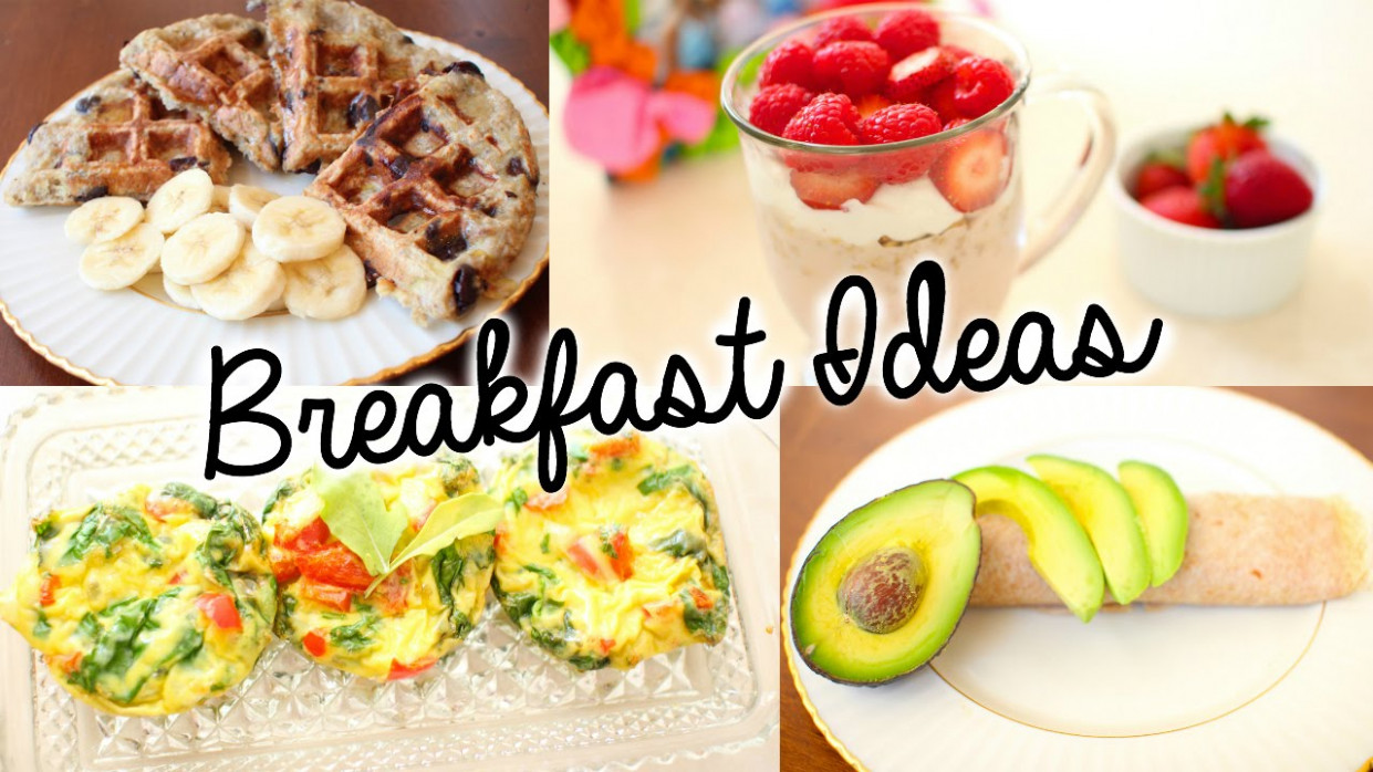 Healthy & Easy Breakfast Ideas For School! | Primrosemakeup - Healthy Recipes For Breakfast