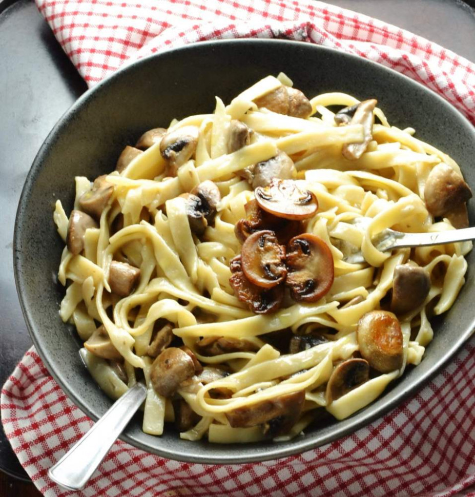 Healthy Easy Mushroom Pasta - Everyday Healthy Recipes - healthy recipes low fat