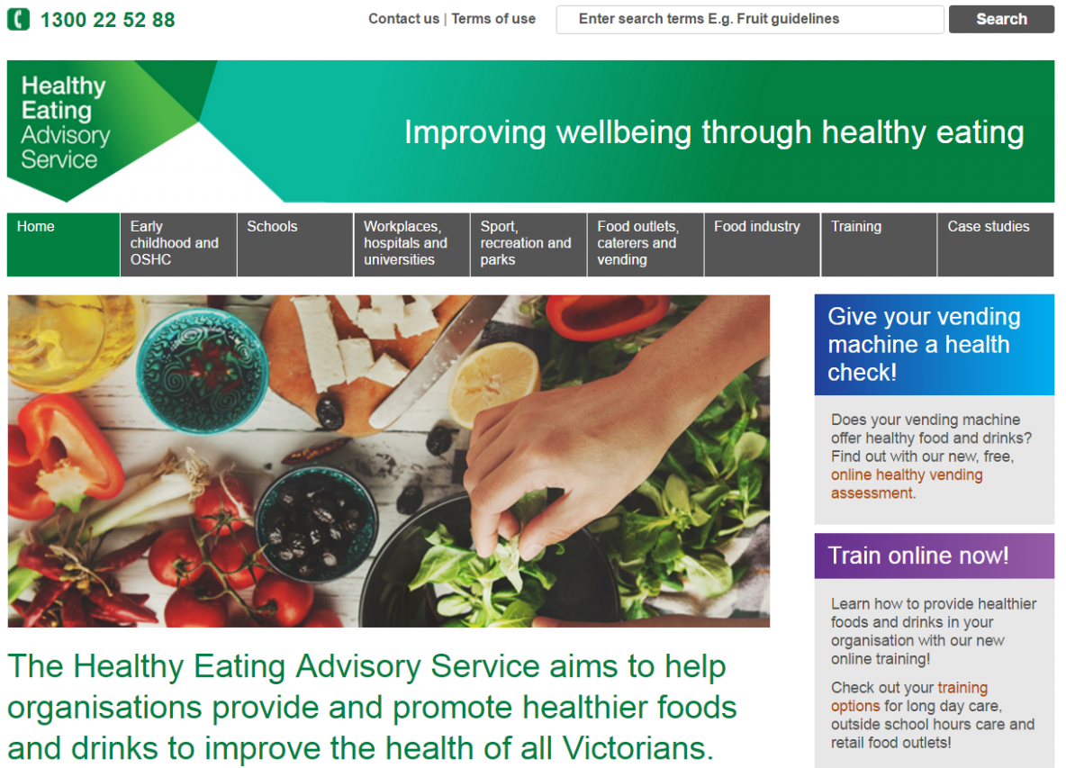 Healthy Eating Advisory Service | Nutrition Australia - healthy recipes queensland government