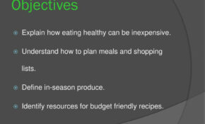 Healthy Eating On A Budget – Ppt Download – Recipes Eating Healthy On A Budget