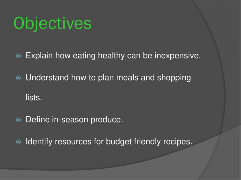 Healthy eating on a budget - ppt download - recipes eating healthy on a budget