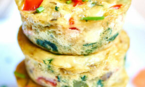 Healthy Egg Muffin Cups – Breakfast Recipes Vegetarian