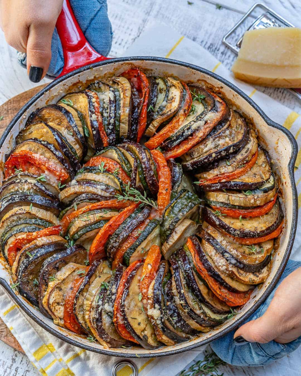 Healthy Eggplant And Zucchini Gratin Recipe | Healthy ..
