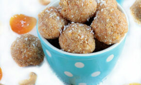 Healthy Energy Bites With Dates, Cashews, Apricots, & Coconut – Recipes Using Dates Healthy
