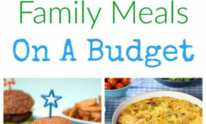 Healthy Family Food On A Budget – Recipes Budget Healthy
