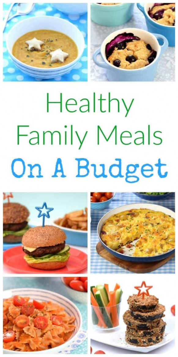 Healthy Family Food on a Budget - recipes budget healthy