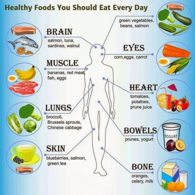 Healthy Foods You Should Eat Every Day - Healthy Fitness ..