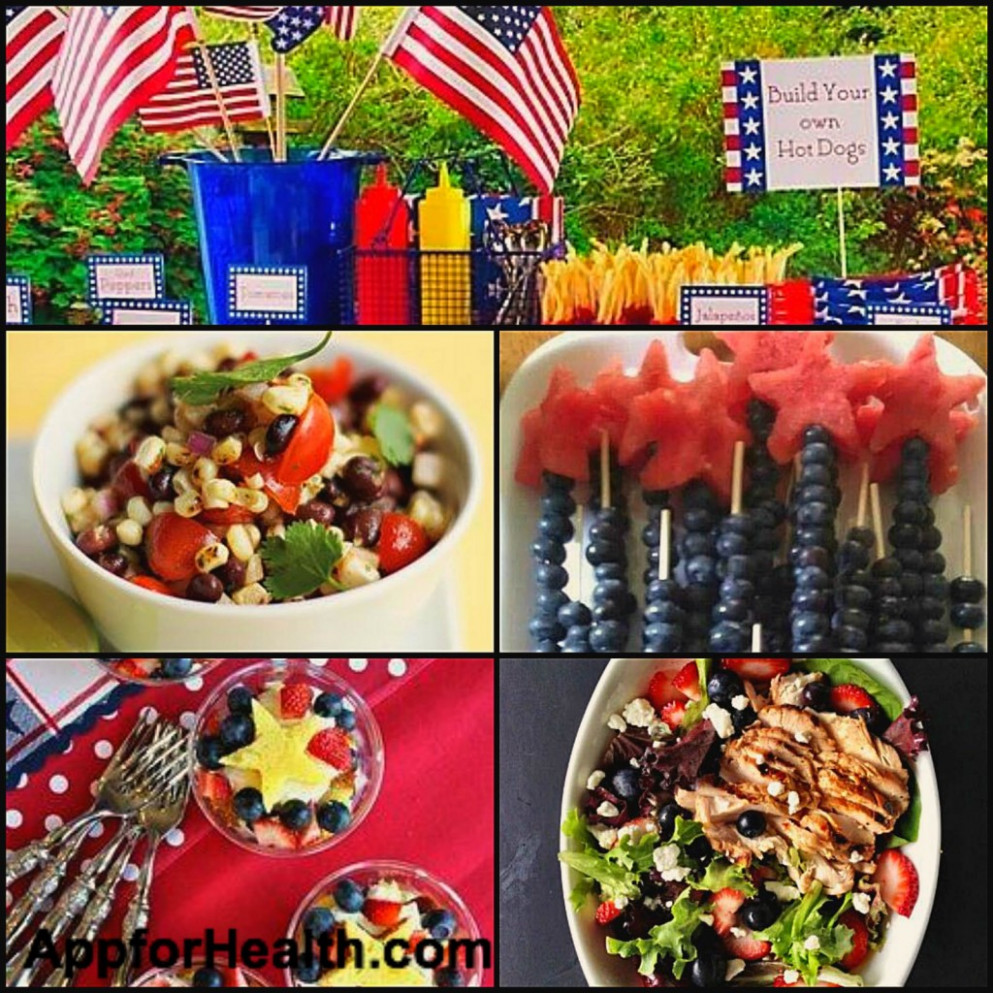 Healthy Fourth of July Recipes - healthy fourth of july recipes