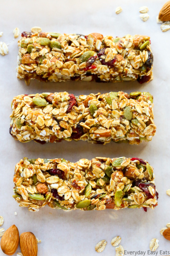 Healthy Fruit and Nut Granola Bars | Everyday Easy Eats - recipes granola bars healthy