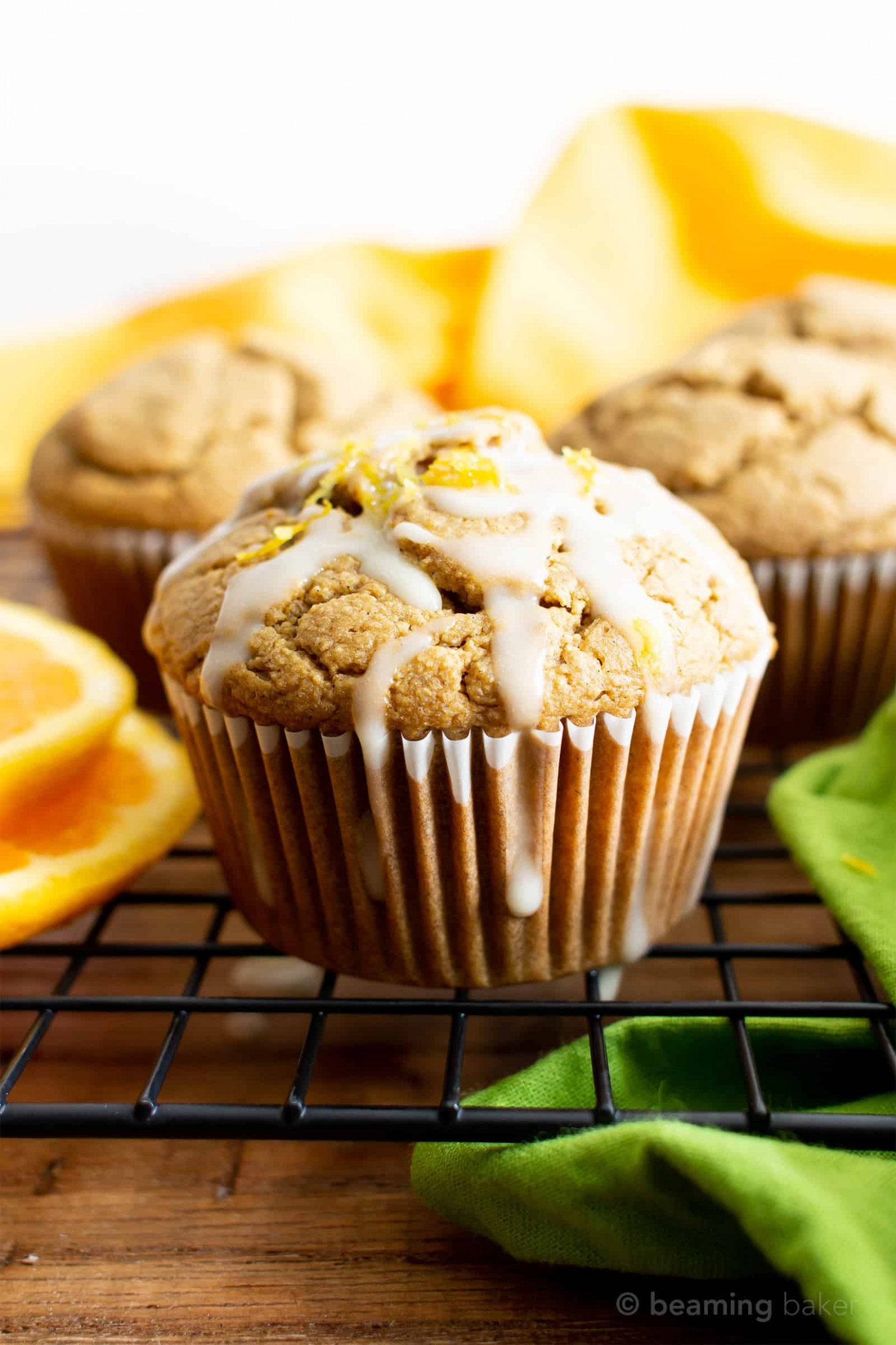 Healthy Gluten Free Orange Cardamom Muffins Recipe (Vegan ..