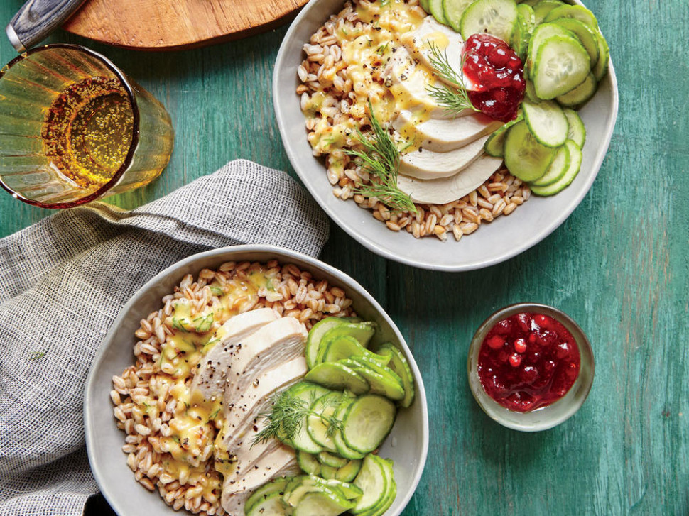 Healthy Grain Bowls - Cooking Light - dinner recipes less than 400 calories