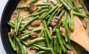 Healthy Green Bean Casserole – Recipes Green Bean Casserole Healthy