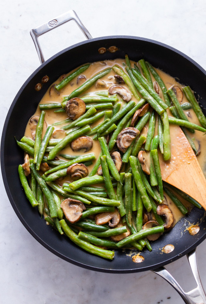 Healthy Green Bean Casserole - recipes green bean casserole healthy