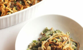 Healthy Green Bean Casserole (Vegan) – Recipes Green Bean Casserole Healthy