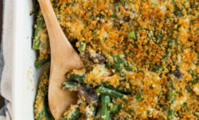 Healthy Green Bean Casserole | Well Plated By Erin – Recipes Green Bean Casserole Healthy