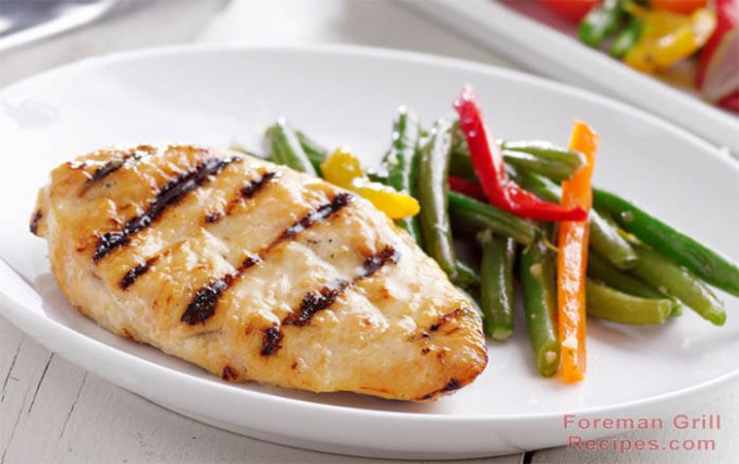 Healthy Grilled Chicken Breast - Foreman Grill Recipes - healthy recipes using chicken breast