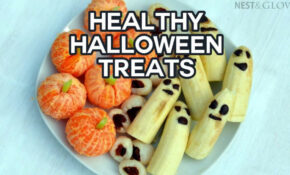 Healthy Halloween Treats – Lychee Eyeballs, Banana Ghosts ..