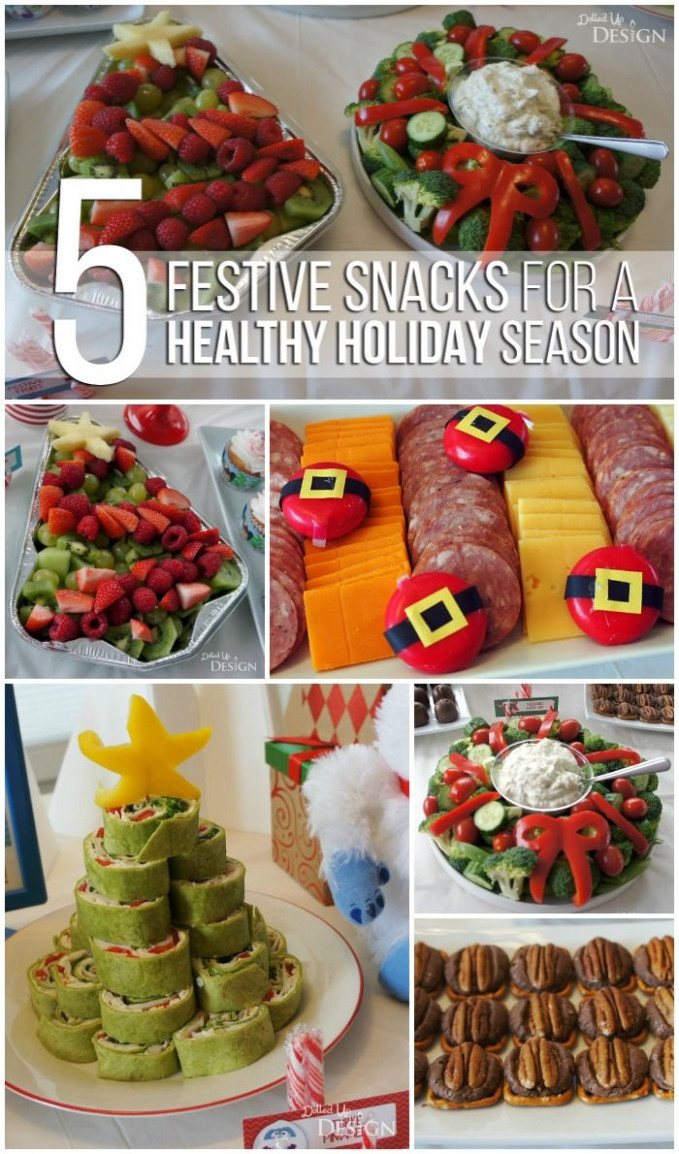 Healthy Holiday Party Food | Xmas Ideas | Christmas Party ..