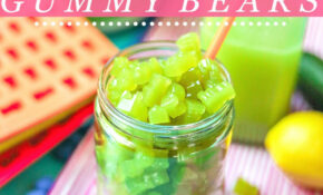 Healthy Homemade Green Juice Gummy Bears – Healthy Green Juice Recipes