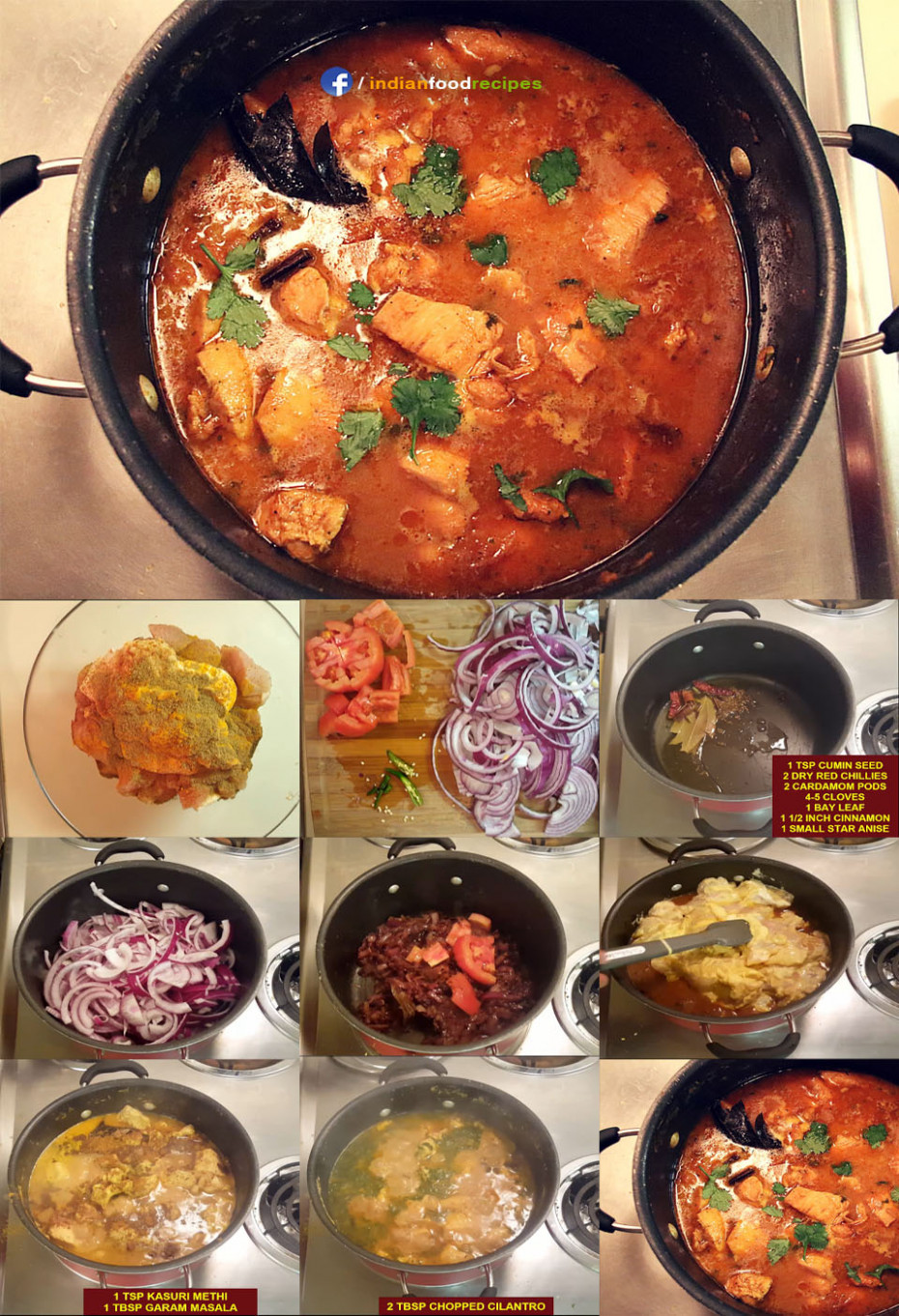 Healthy Indian Chicken Curry recipe step by step | Indian ..