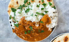 Healthy Instant Pot Butter Chicken - Carmy - Run Eat Travel