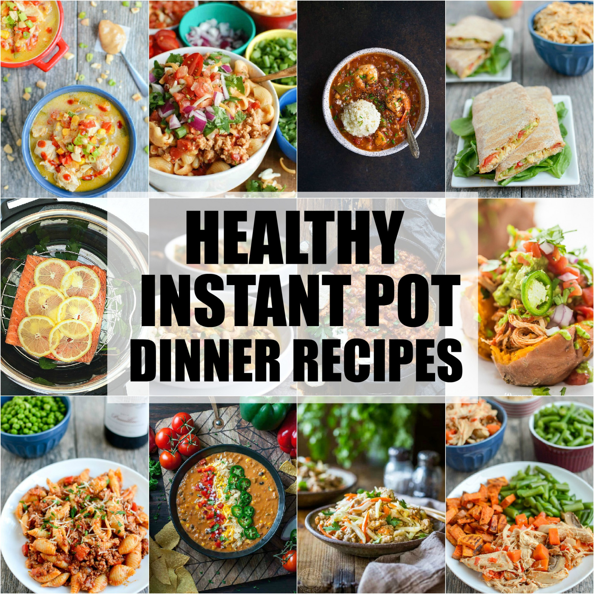 Healthy Instant Pot Dinner Recipes | The Lean Green Bean - instant pot recipes easy healthy