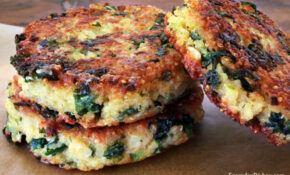 Healthy Kale And Quinoa Patties Recipe – Kale Recipes Vegetarian