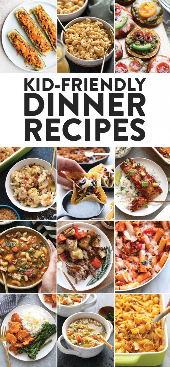 Healthy Kid Friendly Dinner Recipes (12+ Recipes) - Fit ..