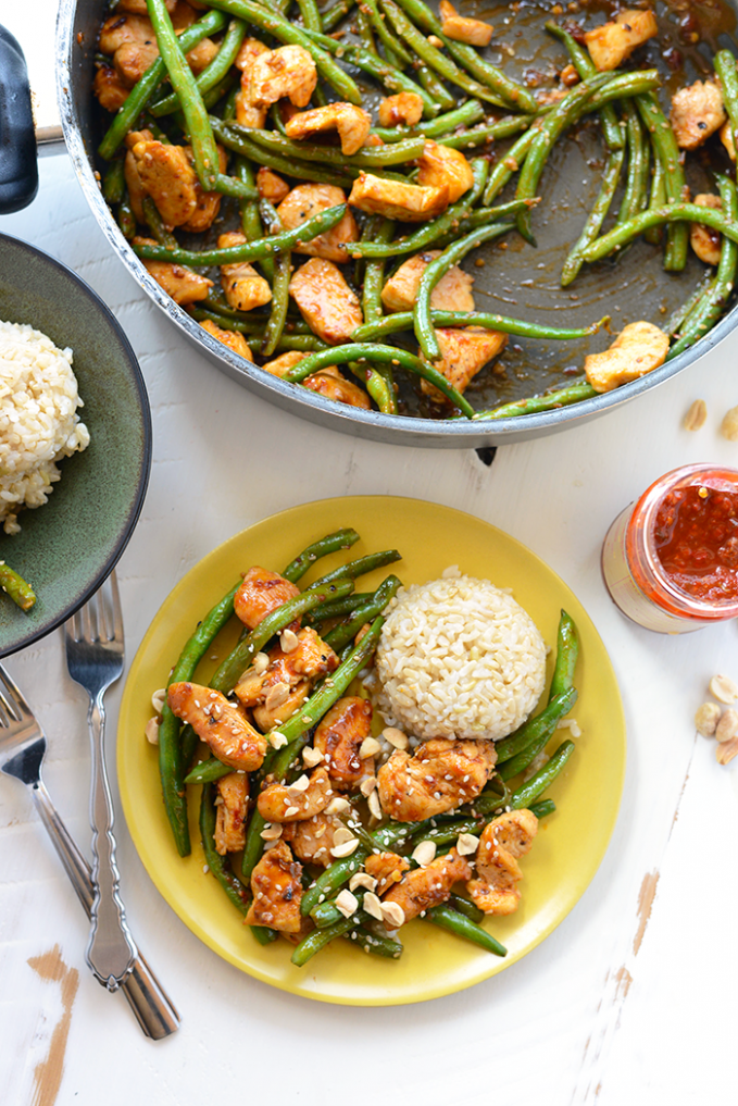 Healthy Kung Pao Chicken - Fit Foodie Finds - recipes kung pao chicken