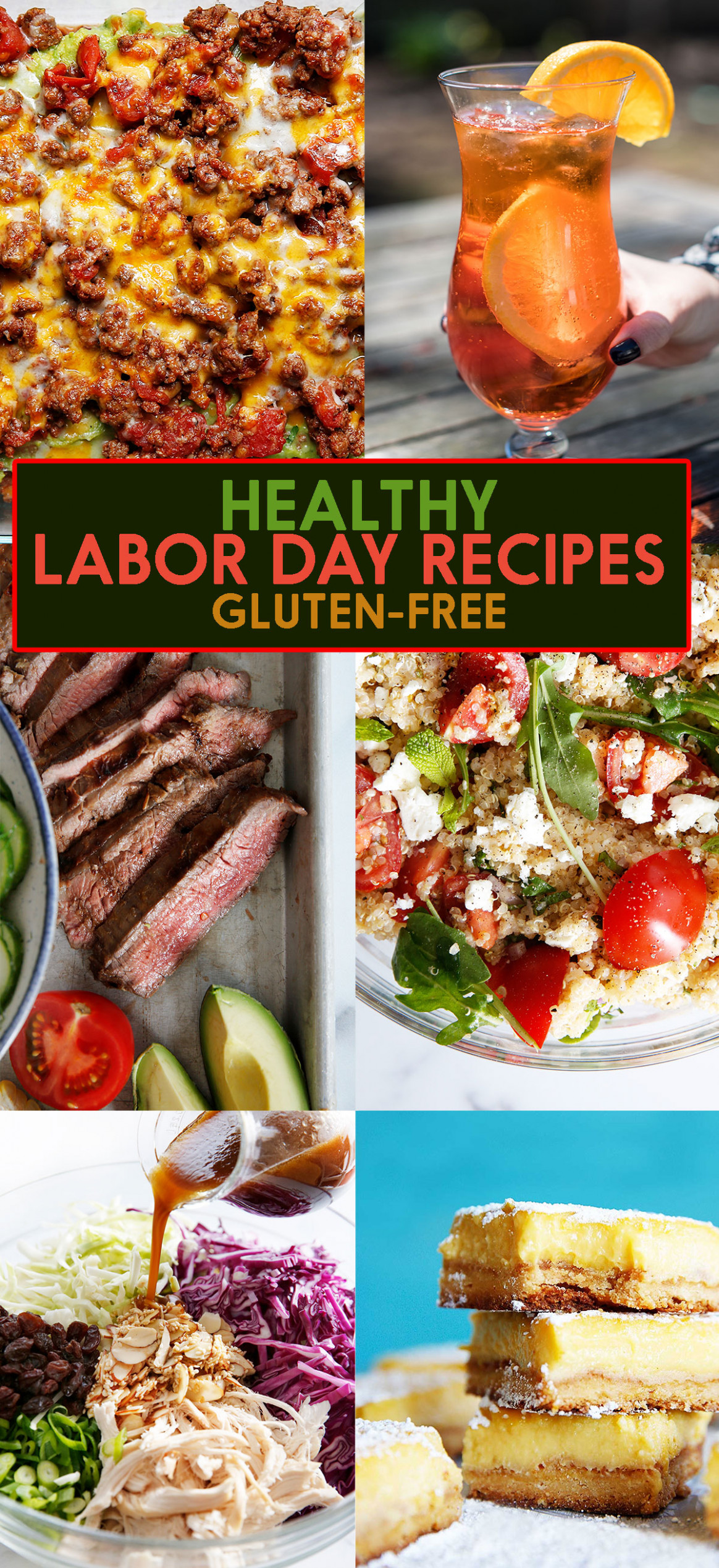 Healthy Labor Day Recipes - Lexi's Clean Kitchen - Healthy Gluten Free Recipes