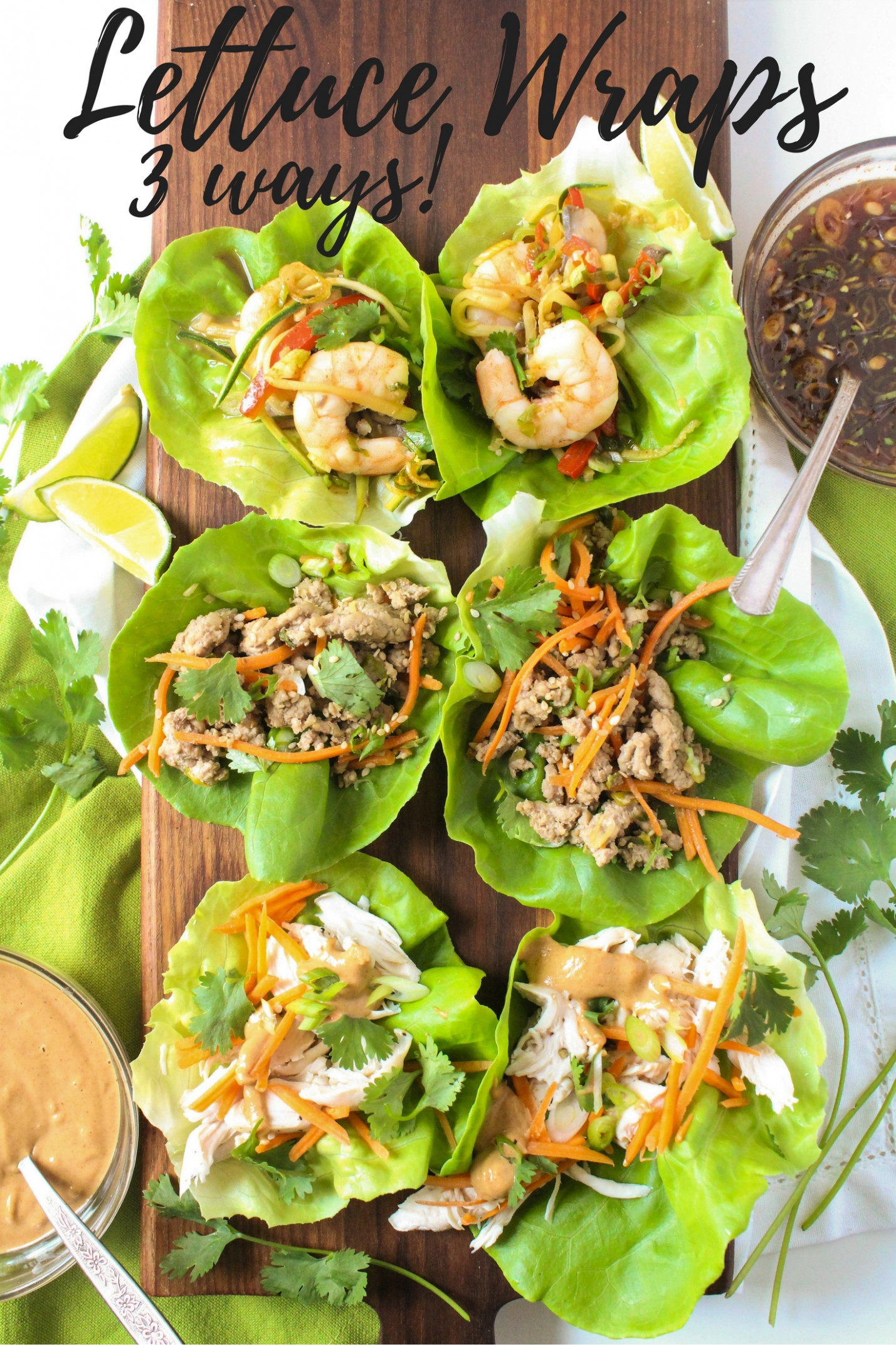 Healthy Lettuce Wrap Recipes - fANNEtastic food ..