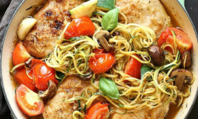 Healthy Low Carb Chicken Zoodle Skillet – Healthy Recipes Chicken