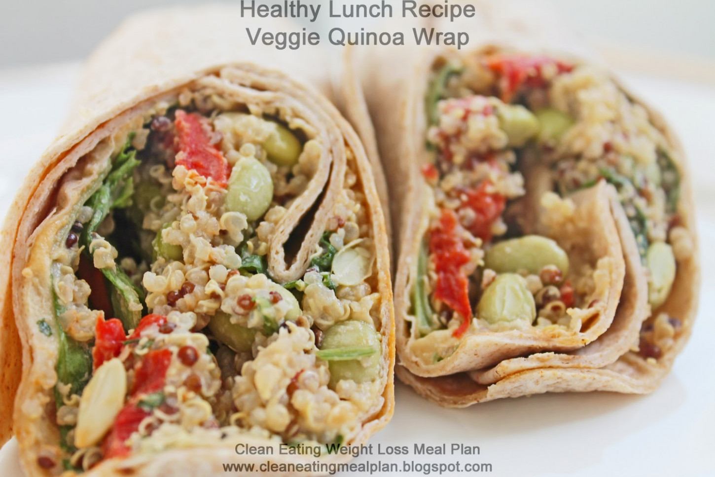 Healthy Lunch Recipe for Weight Loss Meal Plan: Veggie ..