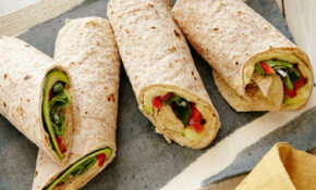 Healthy Lunch Recipes : Food Network | Food Network – Wrap Recipes Vegetarian