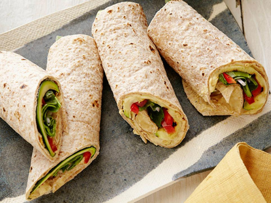 Healthy Lunch Recipes : Food Network | Food Network - wrap recipes vegetarian