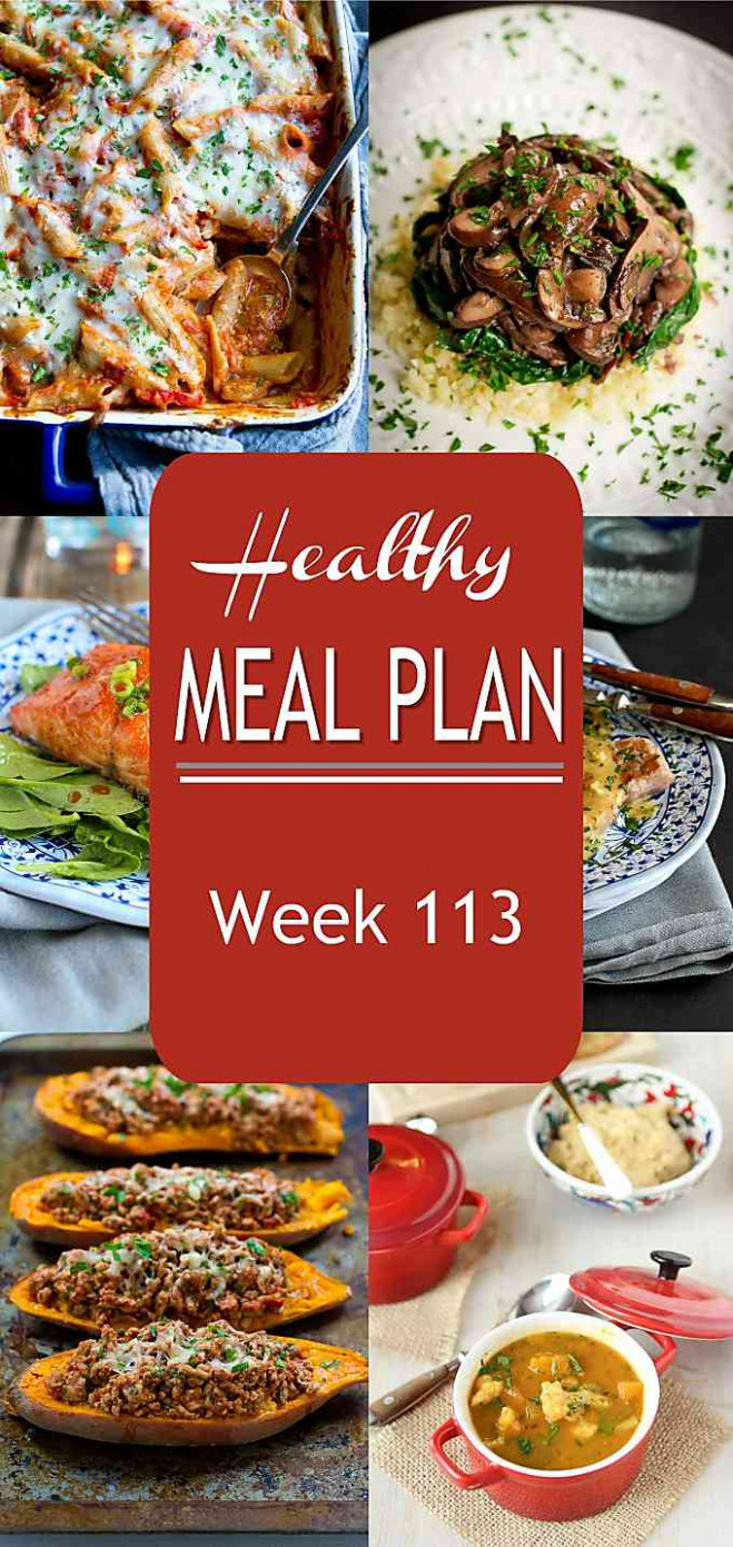 Healthy Meal Plan Week 10 - Cookin Canuck - healthy recipes for a week