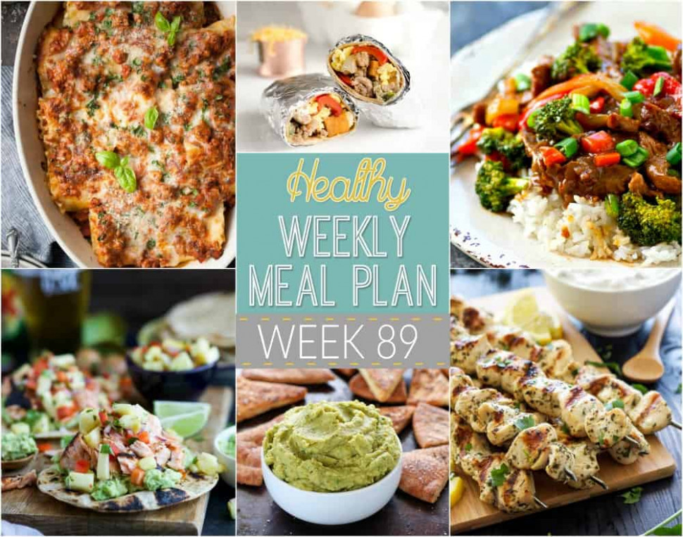 Healthy Meal Plan Week #11 | Easy Healthy Recipes - Healthy Recipes Lunch