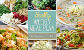 Healthy Meal Plan Week #12 | Easy Healthy Recipes