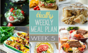 Healthy Meal Plan Week 5 – Healthy Recipes For A Week