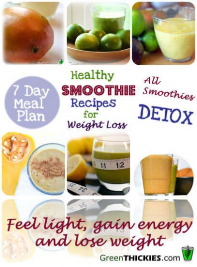 Healthy Meal Plans For Weight Loss 2: Healthy Smoothie ..