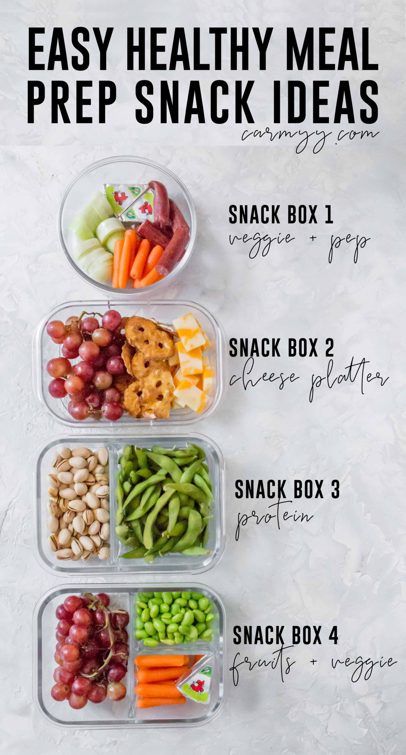 Healthy Meal Prep Snack Ideas - recipes easy healthy