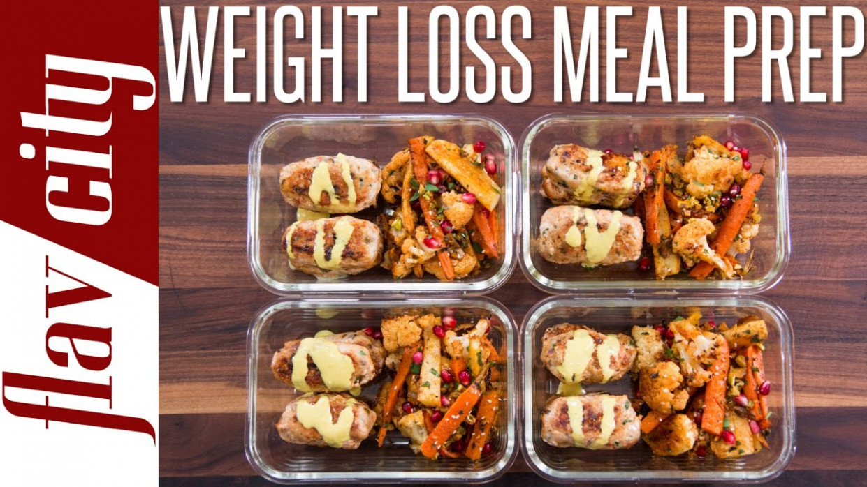 Healthy Meal Prepping For Weight Loss - Tasty Recipes For Losing Weight - healthy recipes lose weight