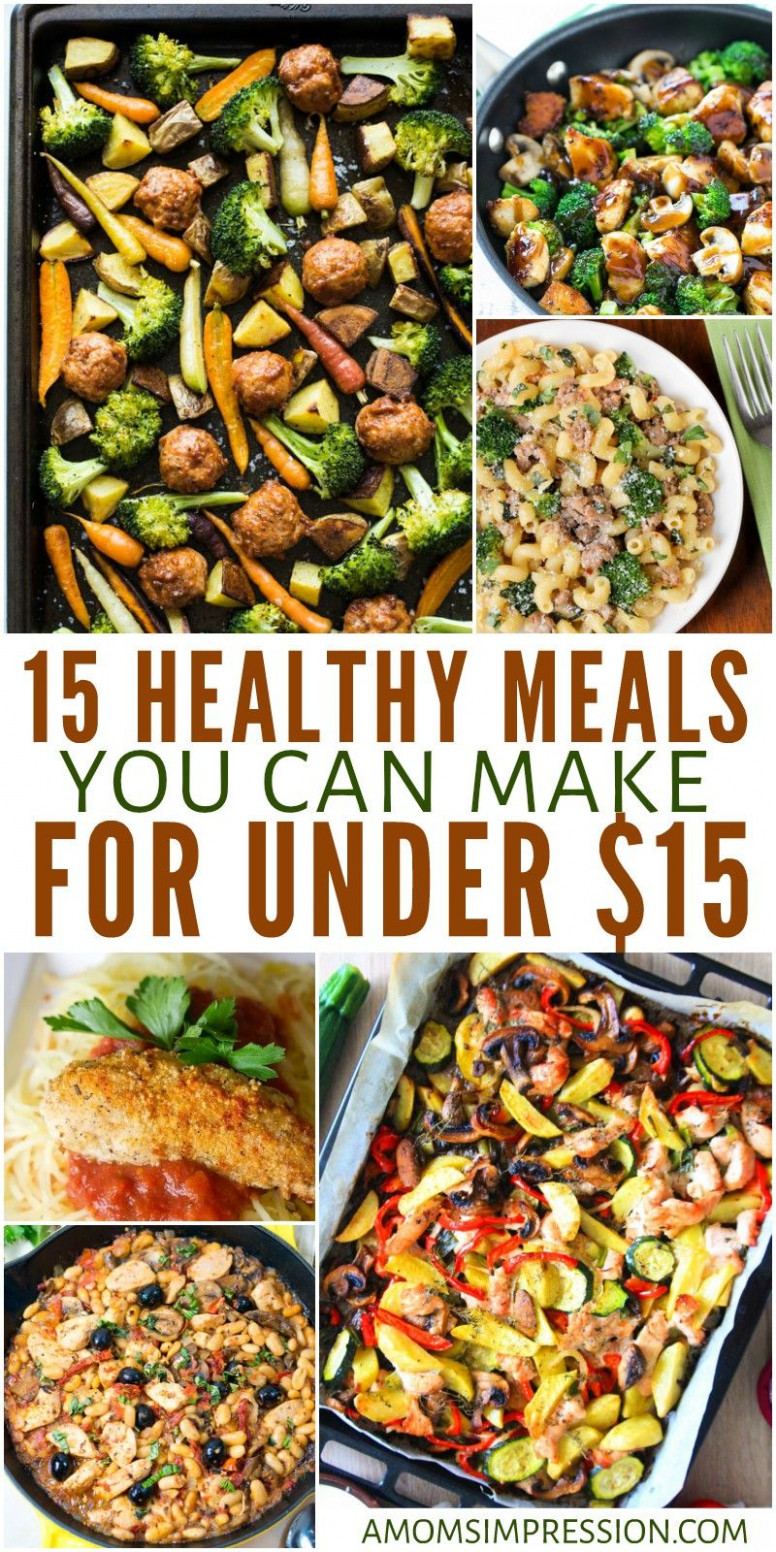 Healthy Meals On A Budget 13 Healthy Meals You Can Make For ..