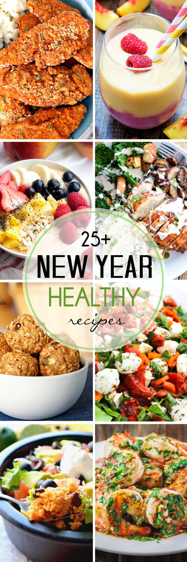 Healthy New Year Recipes - Lmldfood - Healthy Recipes Pinterest
