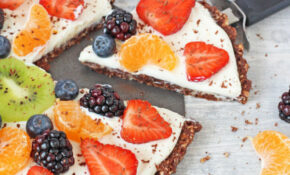 Healthy No Bake Chocolate Fruit Pizza Recipe – Super ..