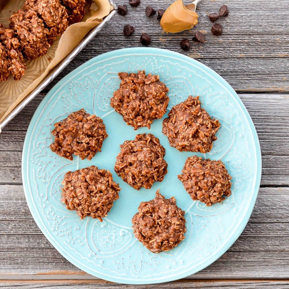 Healthy No Bake Chocolate Peanut Butter Cookies ..