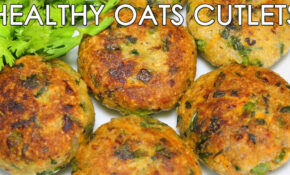 Healthy Oats & Mixed Vegetable Cutlets | Delicious Indian ..