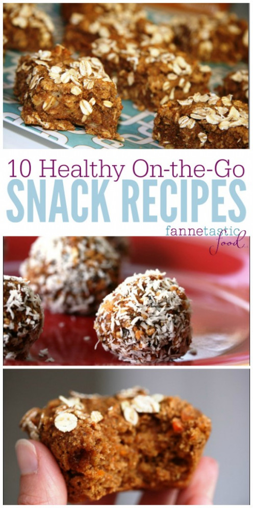 Healthy On the Go Snack Recipes | Portable, Easy - healthy recipes on the go