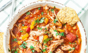 Healthy One Pot Chicken Chili – Chew Out Loud – Healthy Recipes For One