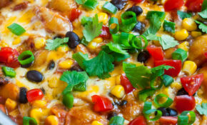 Healthy One Pot Enchilada Pasta – Recipes For Vegetarian